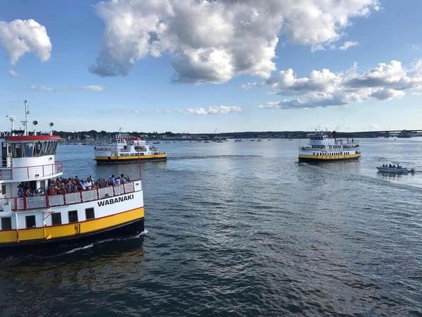 casco bay mail boat runs