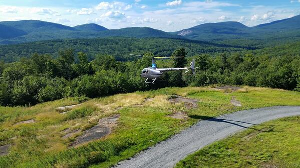 white mountain helicopter
